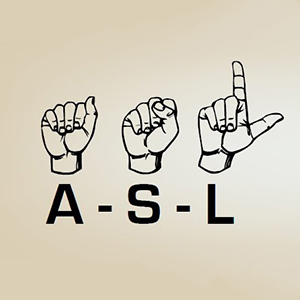 American Sign Language – Courses for Credit